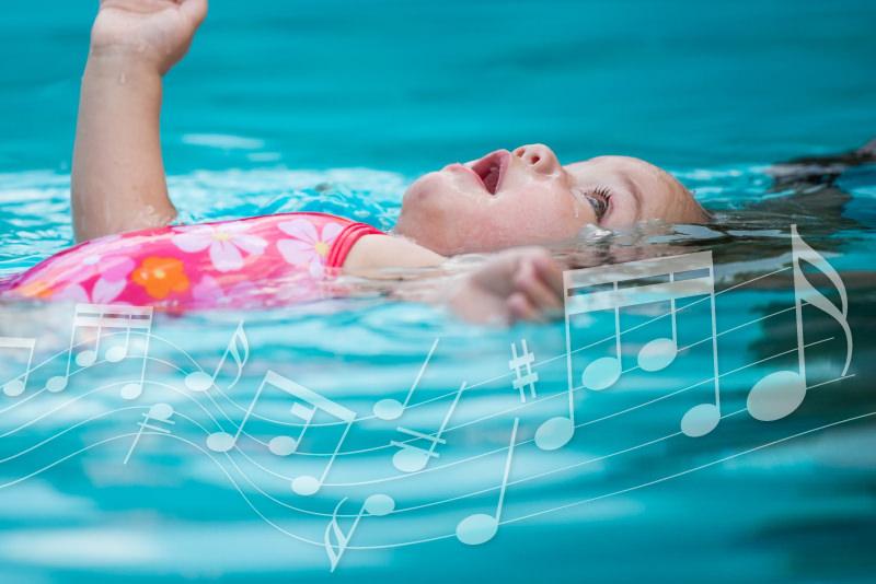 Corsi di musicoterapia in acqua per bambini e neonati di Nexus Sport Academy