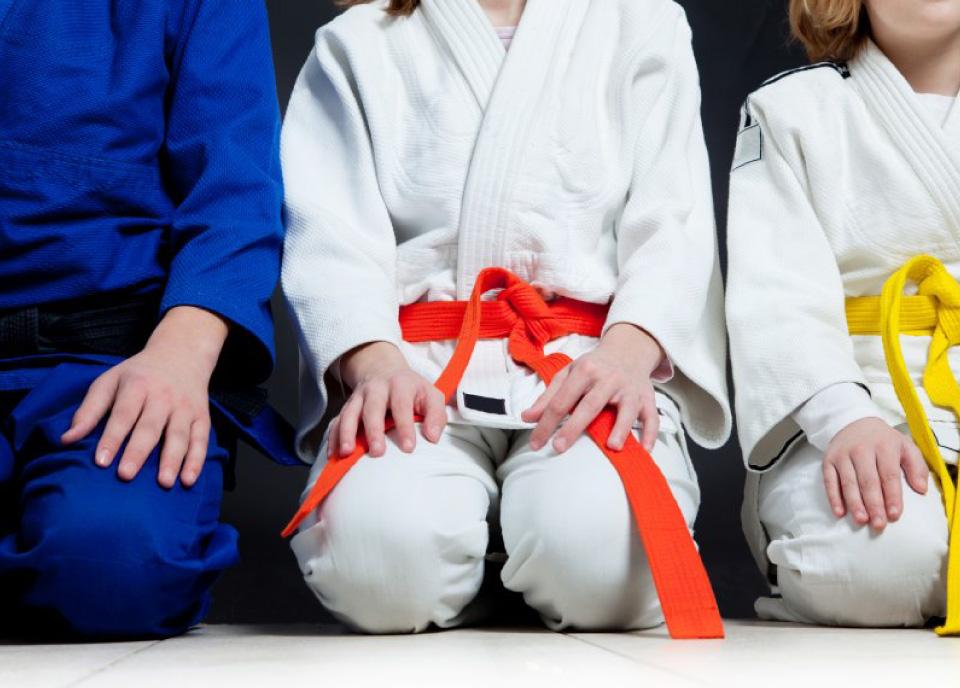 Judo per bambini da 3 a 10-anni