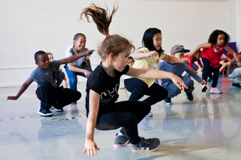 Corso di ballo hip hop per bambini